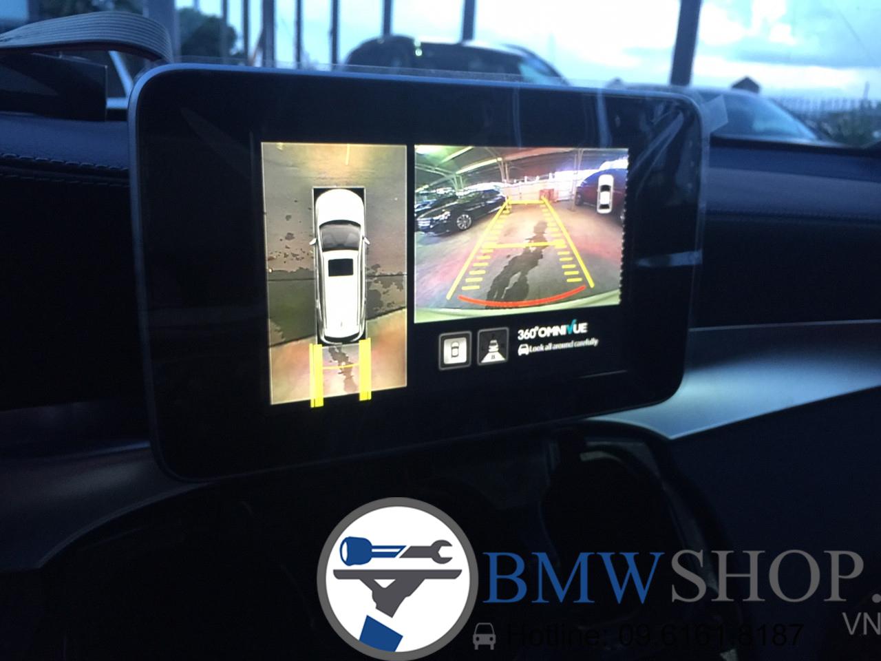 Camera lùi Mer, BMW