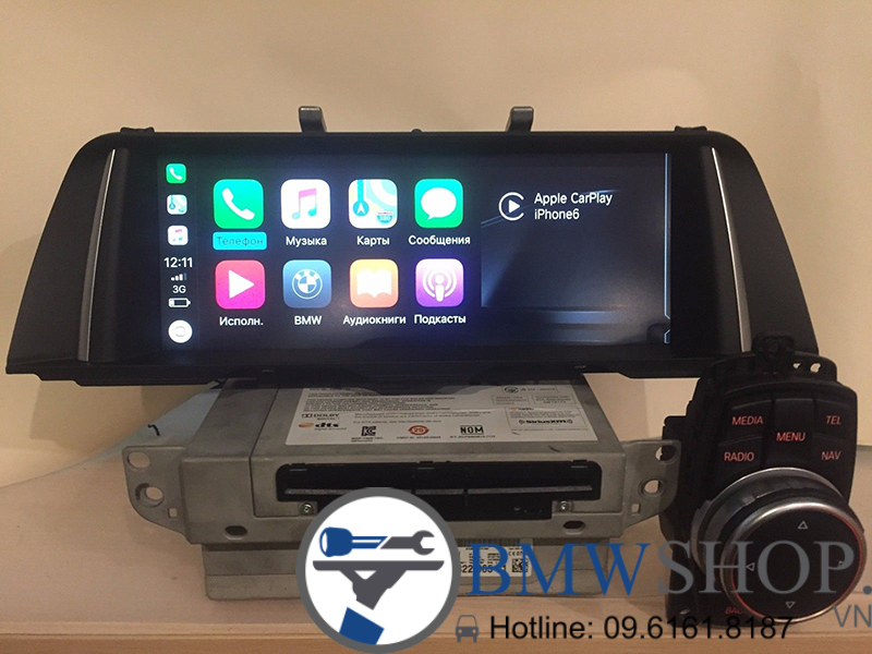 BMW NBT 2 Evo with GPS for BMW F10 F11 5 series 1